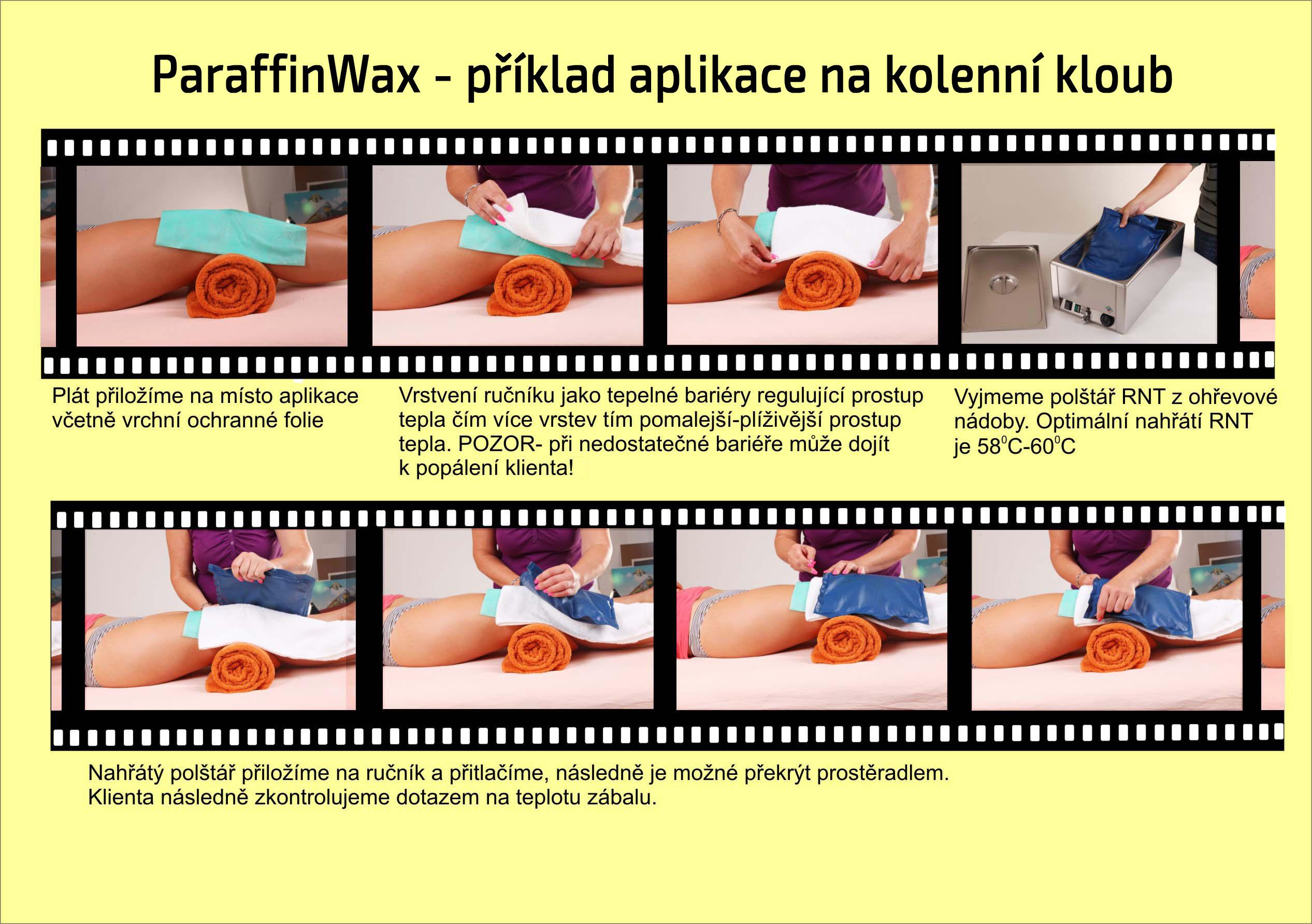 Aplikace Paraffinwax